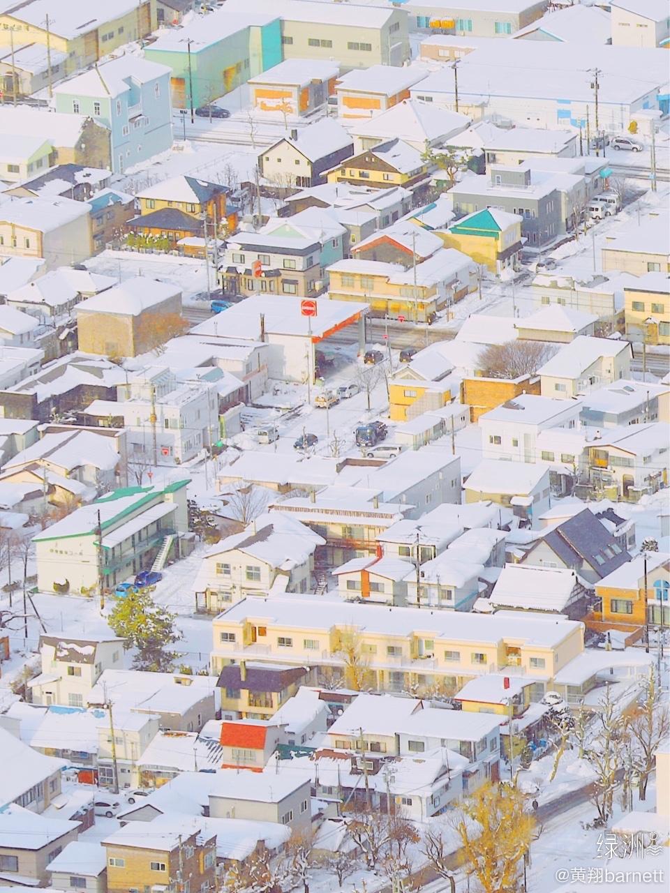 真实存在的动漫世界——日本北海道函馆 拍摄冬季的日本北海道
