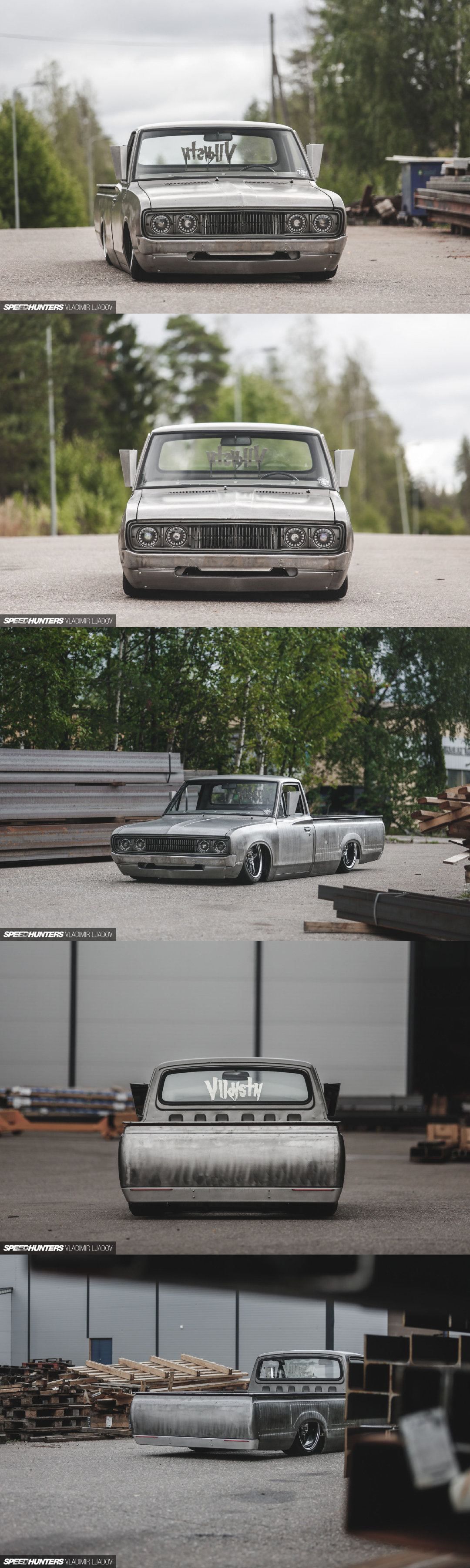 No Paint, No Problem: A Heavy Metal Datsun 620 Pickup