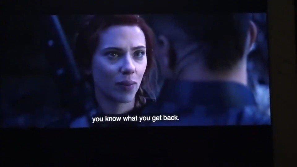 《复仇者联盟4》曝光了黑寡妇鹰眼之争的另一个版本