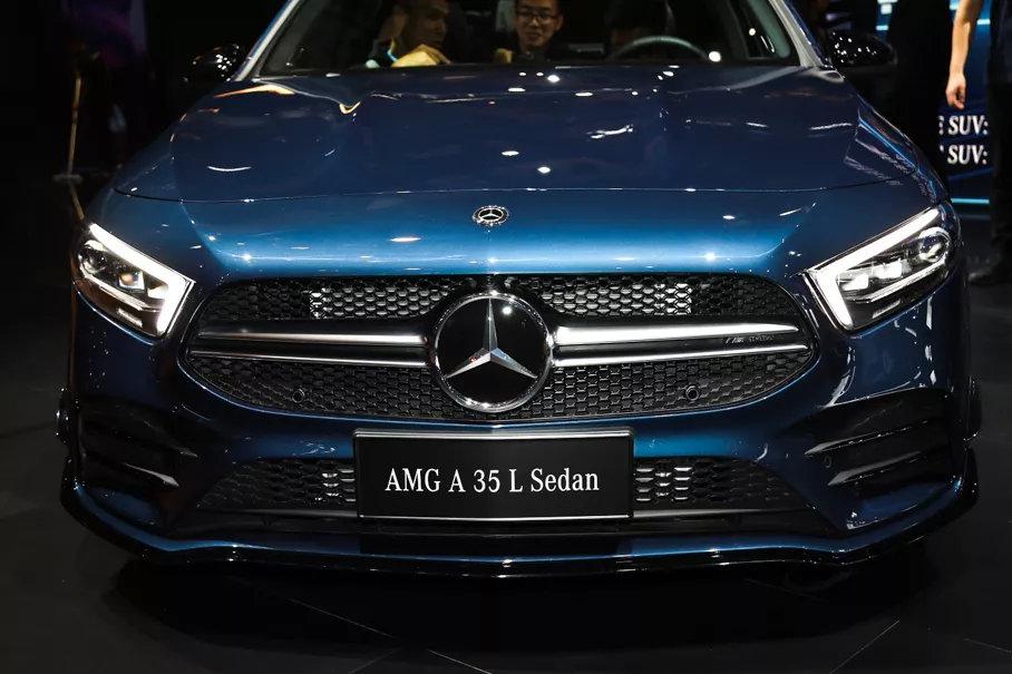 4.9秒破百注入灵魂,最便宜的AMG,国产奔驰A35L即将开启预售