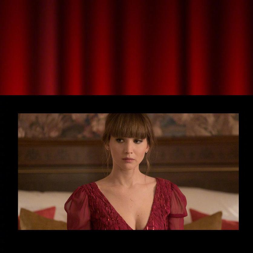 谍战片《红雀》讲述由詹妮弗·劳伦斯饰演的俄罗斯芭蕾舞伶多米尼卡被