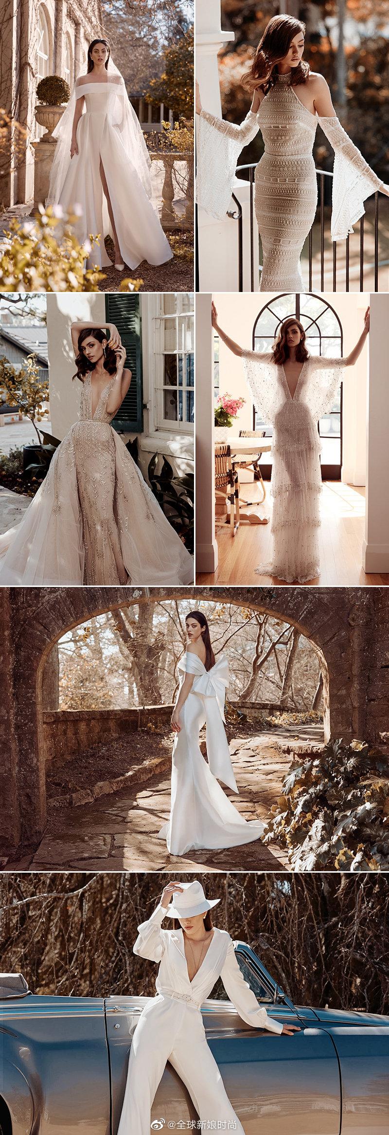 结合优雅与狂野的知性婚纱