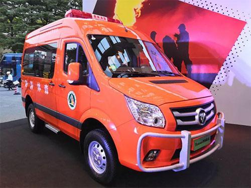 全球合作伙伴大会,福田图雅诺专用车大放异彩