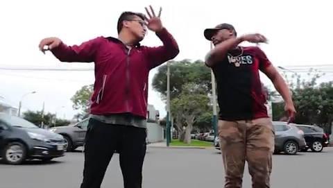 秘鲁旅行——利马街头偶遇网红在跳舞准备拍摄