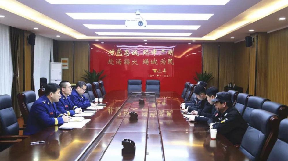 守护古城丨 忻州支队把脉古城消防安全