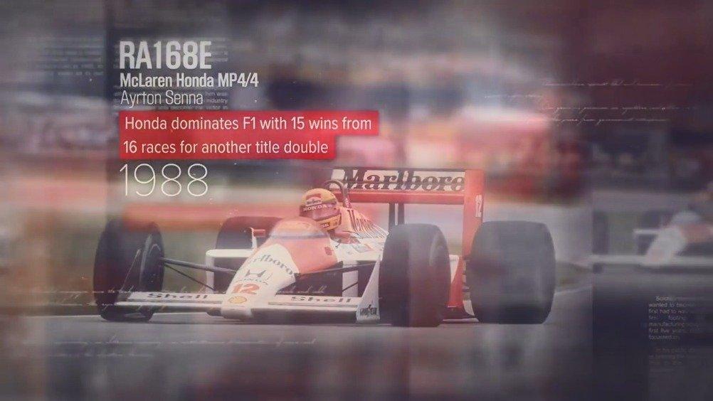 Honda Racing六十周年宣传片~