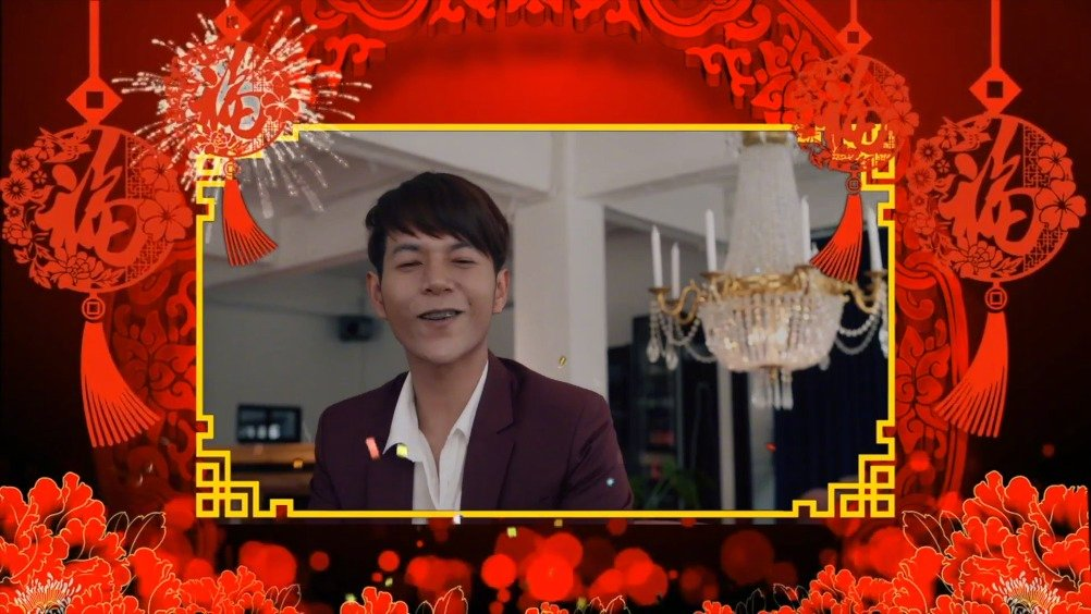 泰国歌手Boy Sompob 给天府泰剧的粉丝们送上新春的祝福