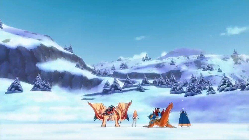 Capcom新作手游《怪物猎人 Riders》现已在iOS和Android 平台配信