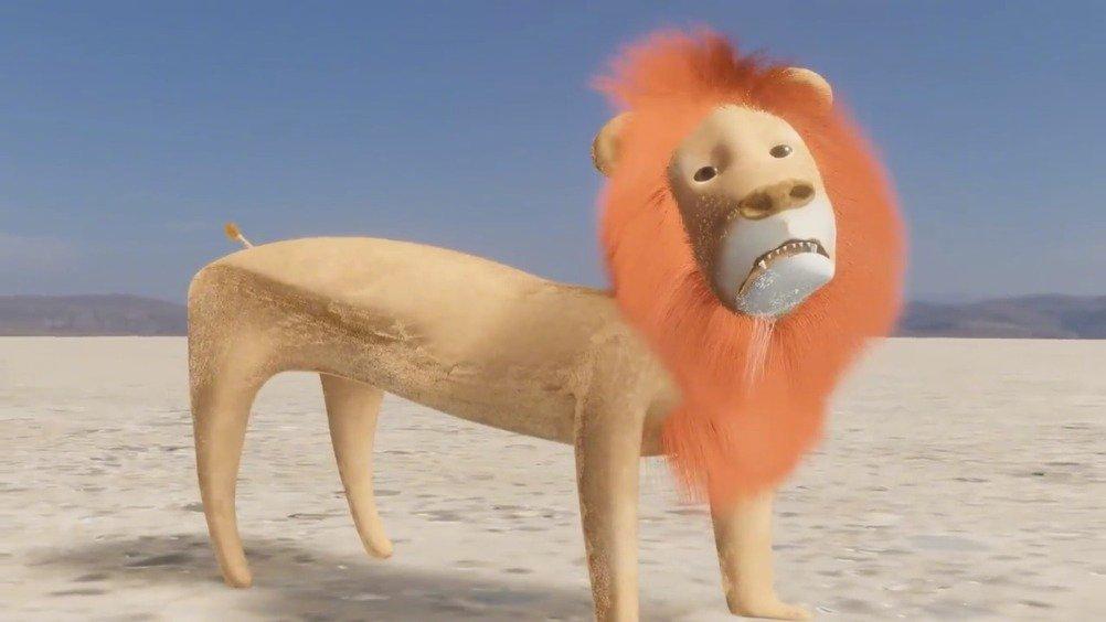 俄罗斯网友自制3D动画大戏《狮子王》,剧情紧凑画风清奇