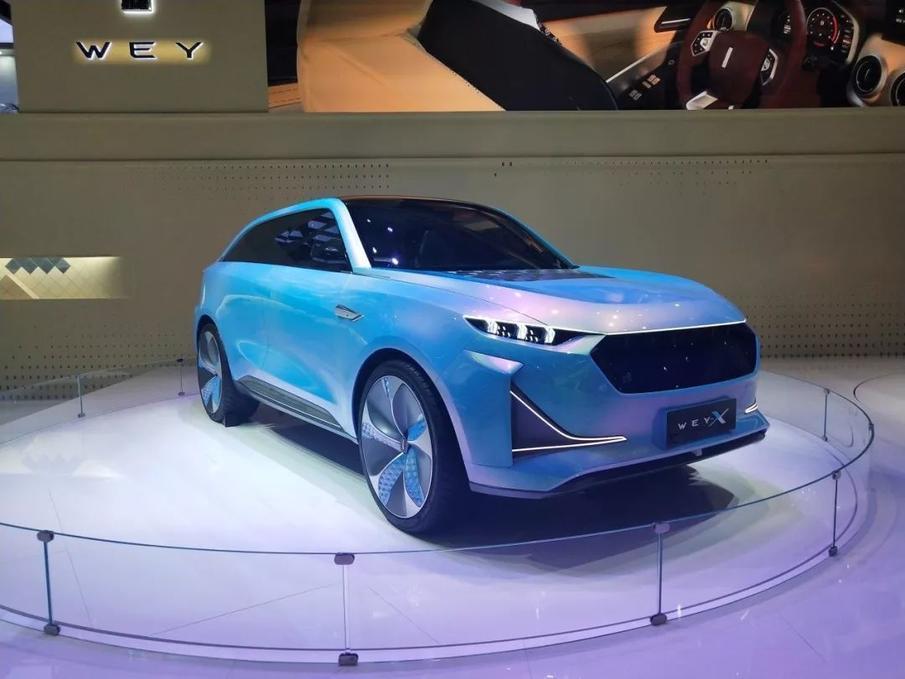 WEY-X概念车上海车展全球首秀