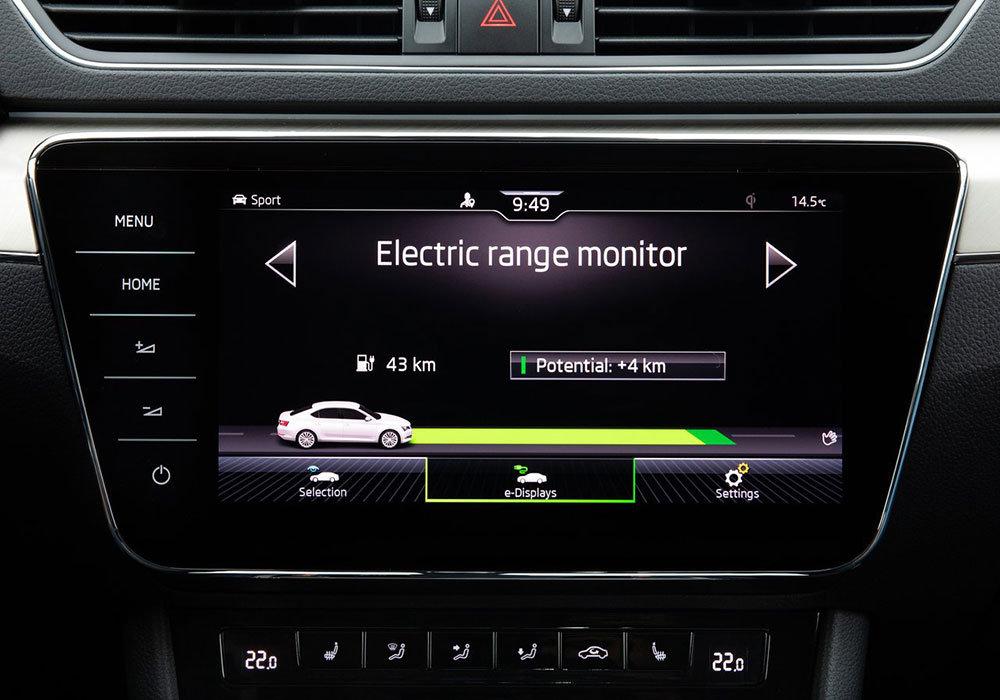 斯柯达首款插电混动车型 2020款Superb iV官图发布