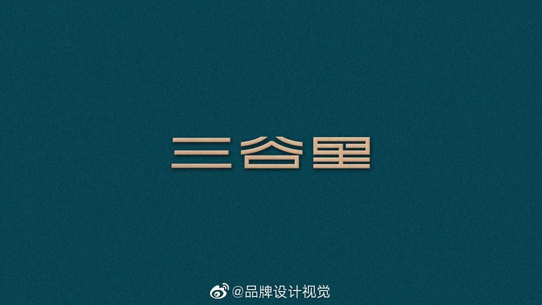 早安品牌海悦三谷里·生态水疗养生空间VI设计。