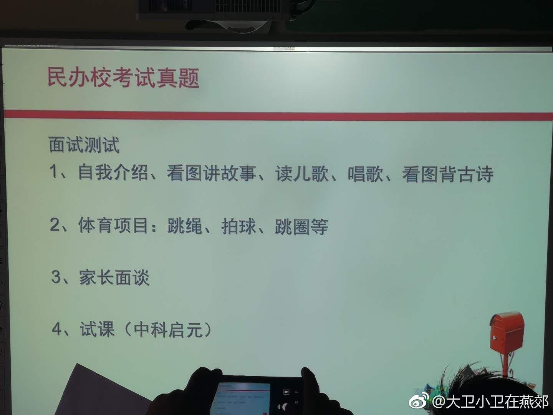 据说小学北京某民办私立古诗的入学考试题巷小学衣乌这是图片