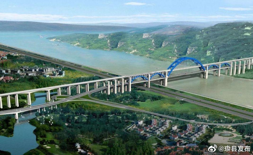 好消息!宜宾又一座公路桥全线贯通啦!城北新区离西区更近了