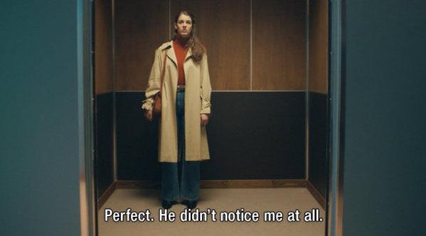 暗恋的你会选择表白吗?这则创意广告里的男女主经常在电梯遇见
