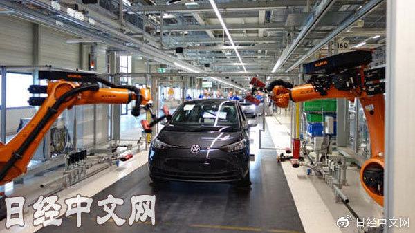 大众将向技术研发投入600亿欧元