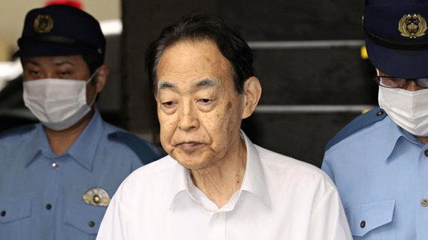 杀子日本前官员受审 给妻子的信道出缘由