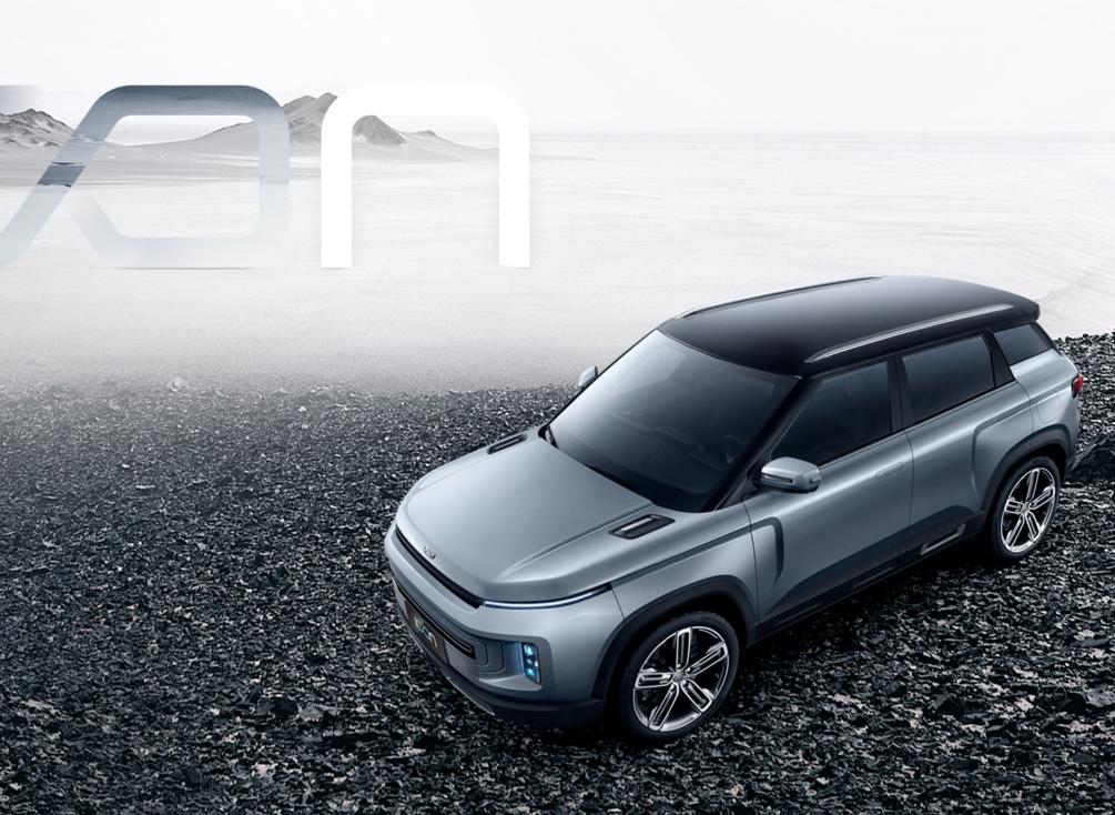 基于BMA平台打造/高度还原概念车 吉利icon将于22日正式发布
