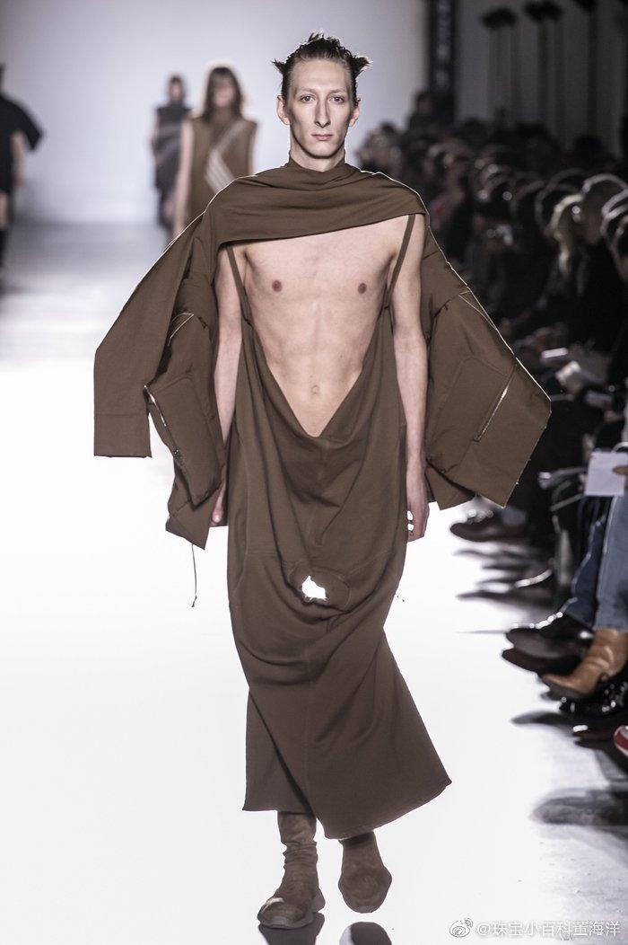 时尚界的时尚我是永远都搞不懂了均来自品牌 Rick owens