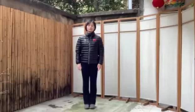 太极拳奥运冠军 崔文娟 本视频由合肥交通广播、北京广播电视台