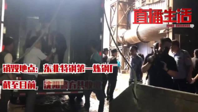 截至目前,沈阳警方共收缴非法枪支273支、仿真枪282支、子弹2
