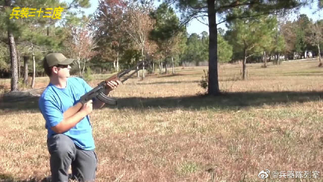狙击步枪填装加重子弹,一点准头都没有