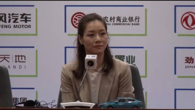 李娜出席武网新闻发布会