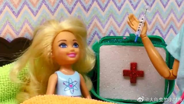 制作芭比的护士服、注射器、工作本,益智手工做起来!超级棒的!