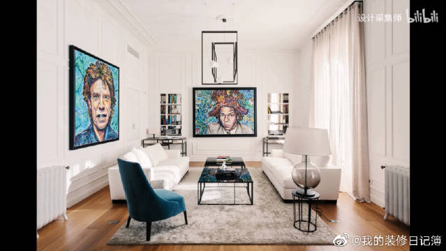 公寓位于时尚之都米兰,200平方米意式风格家装,很有性格的设计