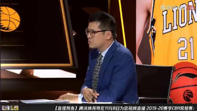 杨毅批评某球员:你努不努力大家都看见了 篮球不会说谎