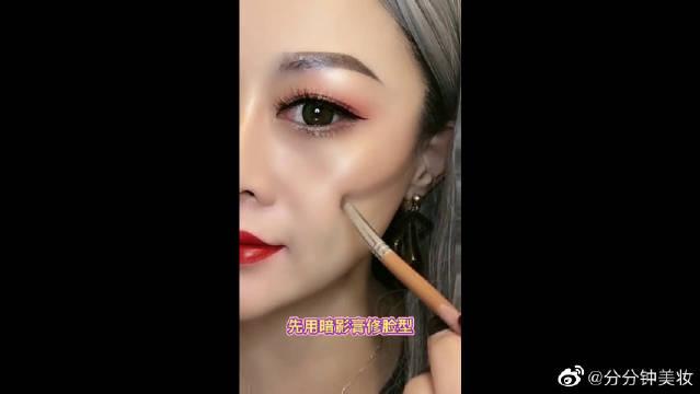 全脸修容技巧分享,让你的妆容变得精致又立体
