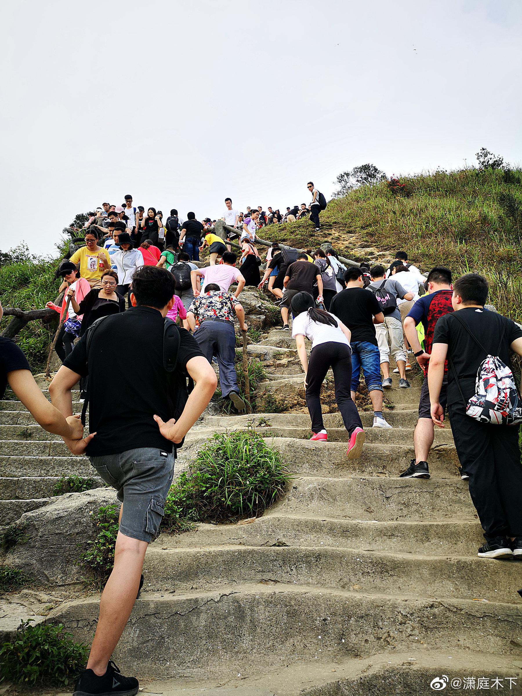 爬好汉坡,登鹏城第一峰,梧桐山上。由 华为P20 Pro 徕卡三摄 拍摄