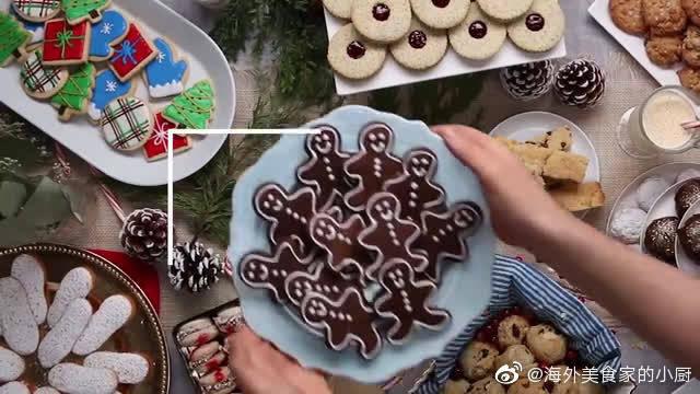 圣诞老人表情包曲奇饼干-生活