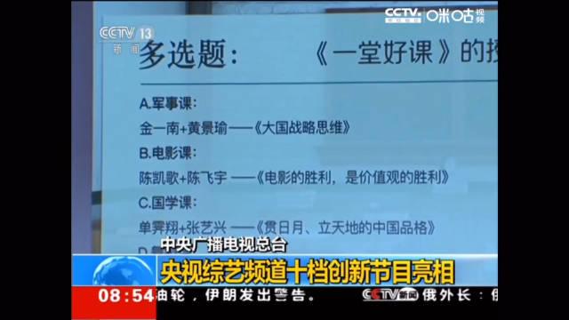 190822|CCTV13《朝闻天下》中央广播电视总台央视综艺频道2019创新