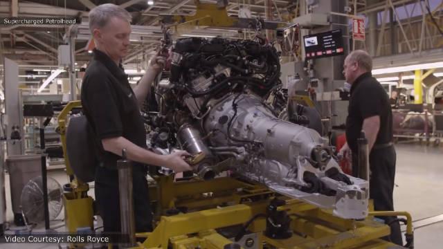 汽车工业!劳斯莱斯幻影生产制造全过程。