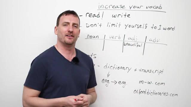 如何扩展你的英语单词量?