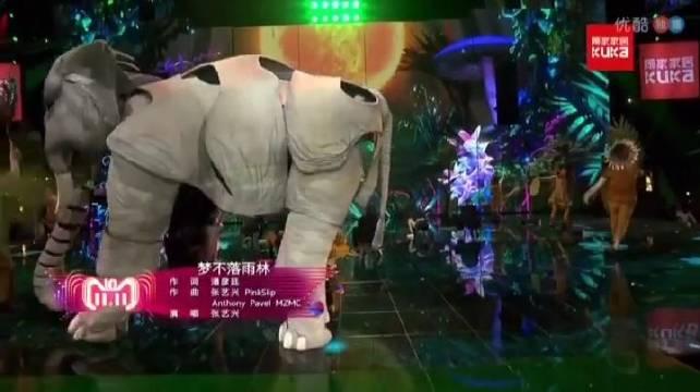张艺兴2018年双十一舞台回顾《梦不落雨林+麻婆豆腐》舞台王者张艺