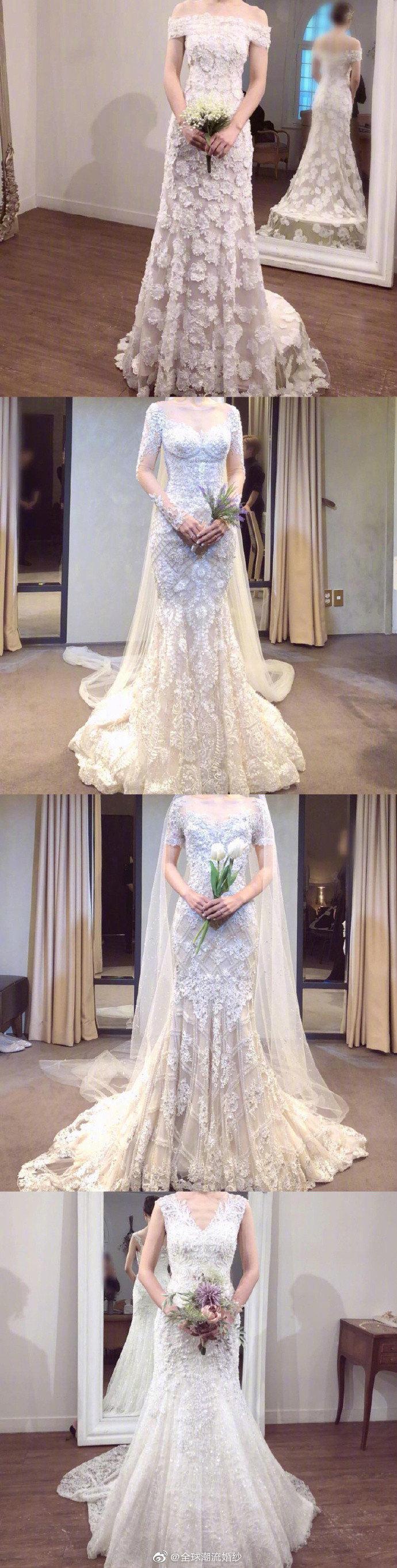 女孩最美的时候!最全婚纱样式给你参考