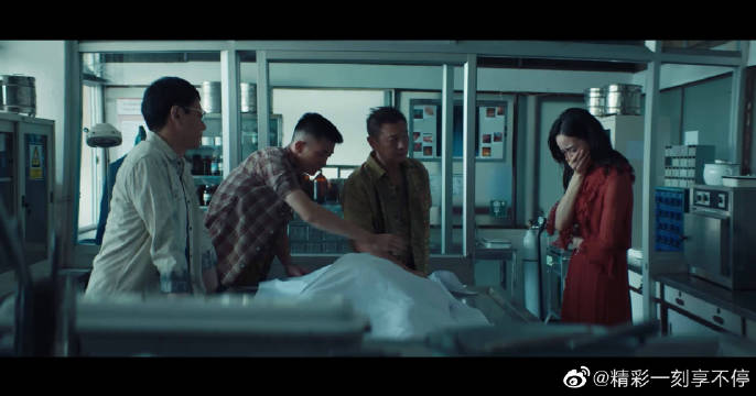 @邱澤日記 @張鈞甯Ivy闻讯前来,看到停尸间床上的尸体伤心欲绝!