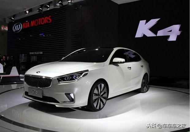 入门级中型汽车起亚K4获得汽车热搜榜的亚军,排名第二