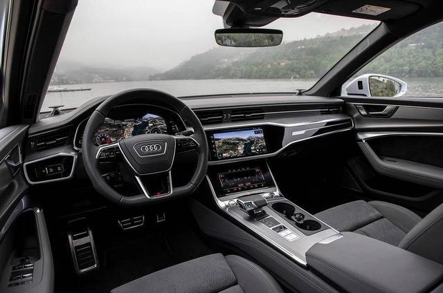 A6进入标配混动时代,空间大如旅行车,V6降油耗至5.8L