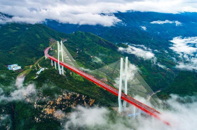 因为热爱|贵州就是这么美-北盘江大桥