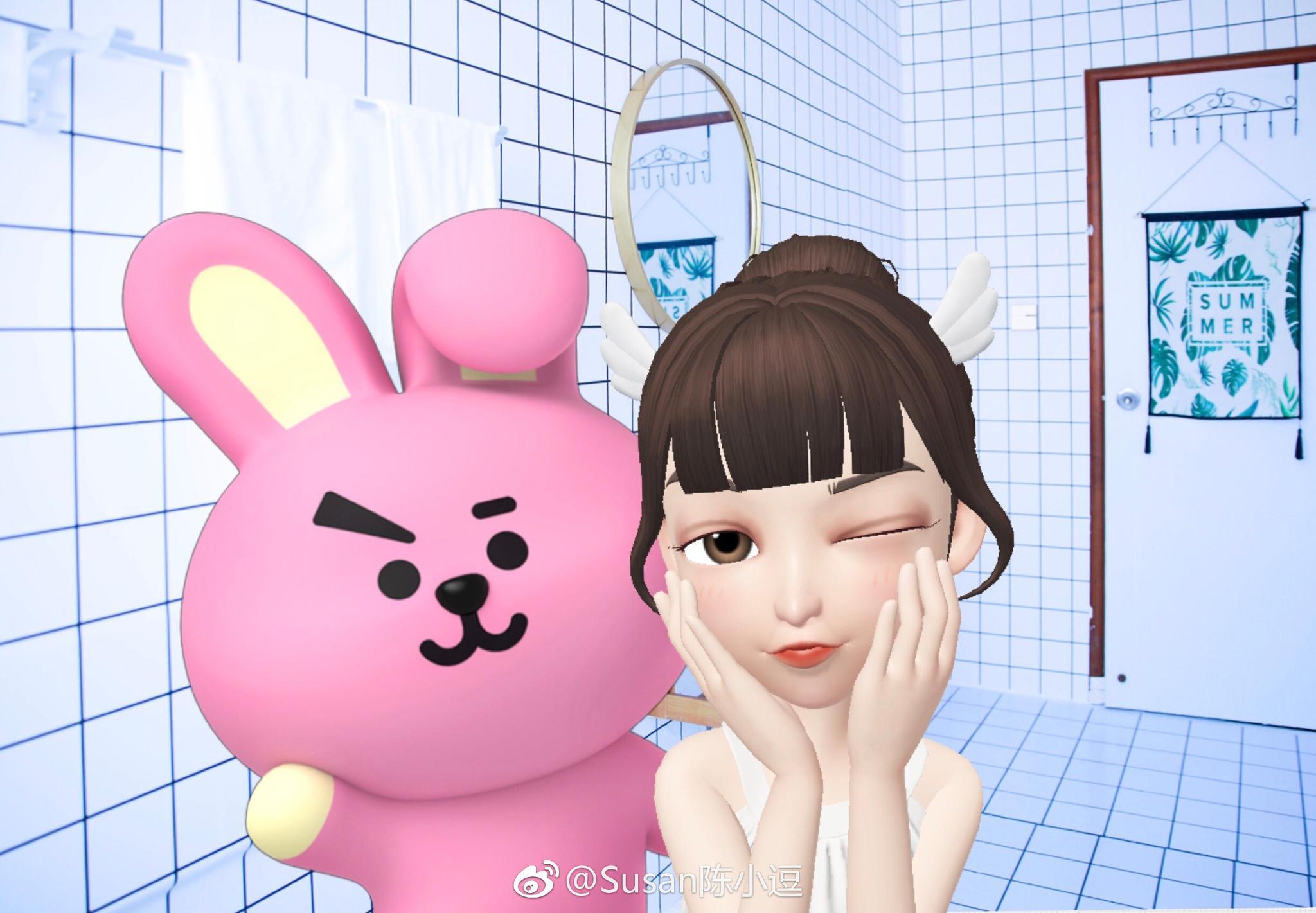 最近周围有好多朋友沉迷于 崽崽 ZEPETO中文版这个可以捏脸拍照的APP 崽崽