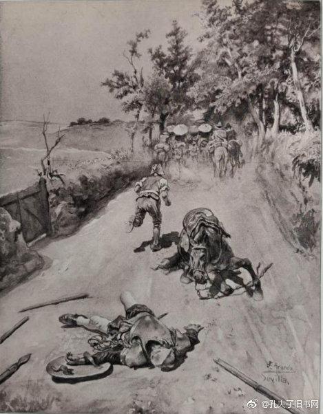 画家何塞·希梅内斯·阿兰达是第一批对塞万提斯的作品有了现实主义理解