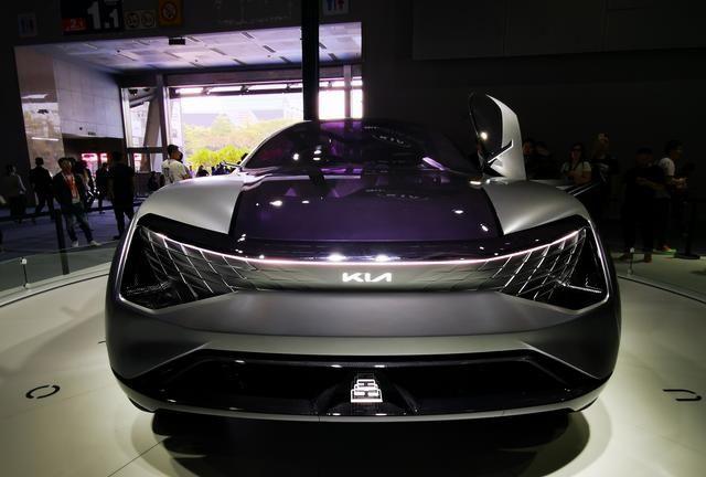 采用龙鳞v元素元素起亚FUTURON概念车广州车有产品的寓意设计图图片