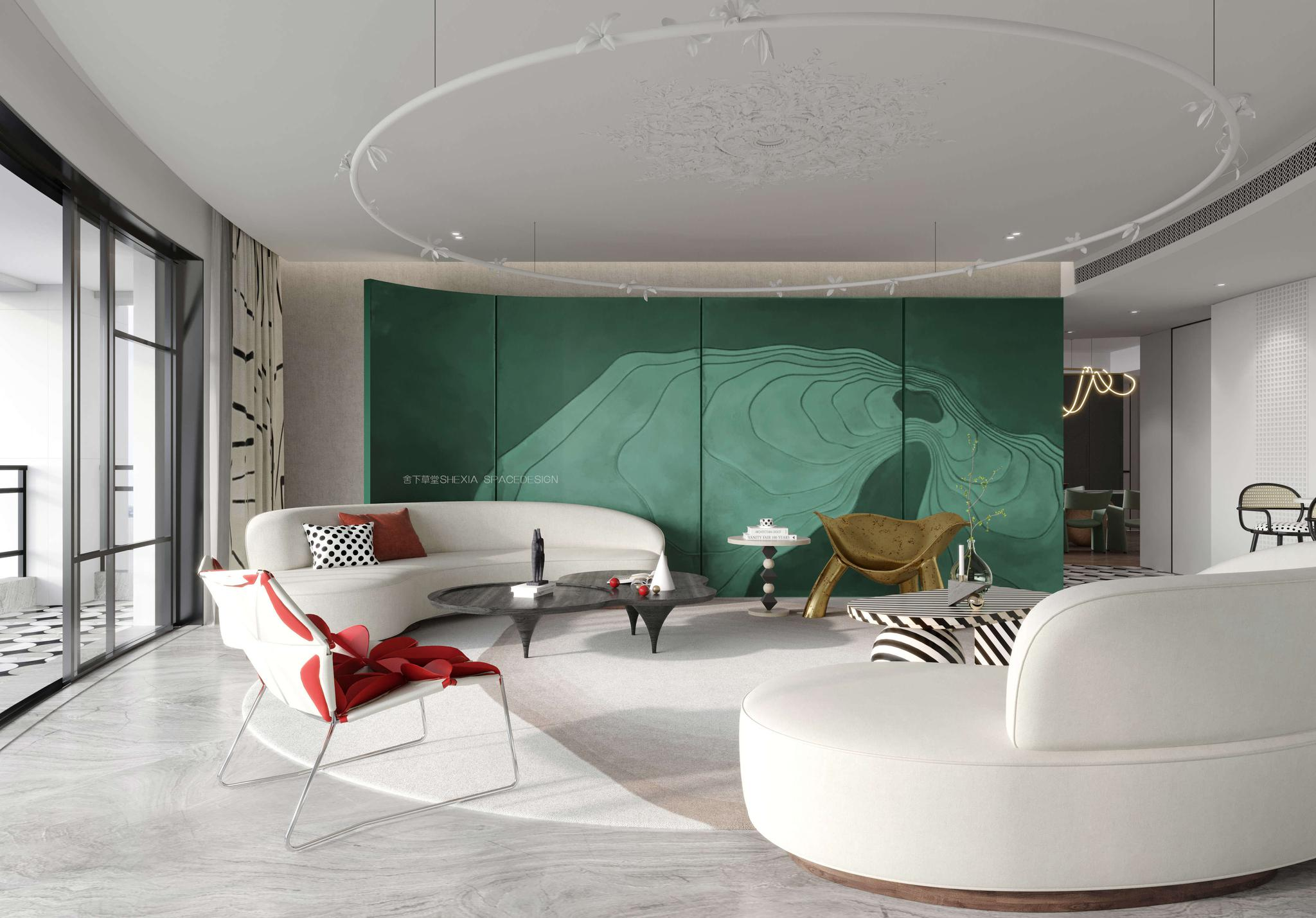 宁洁设计作品  MODERN/高端住宅设计/私宅设计