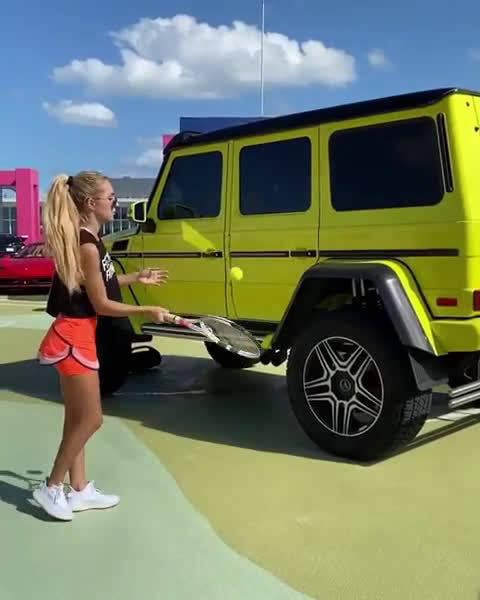想和妹子打网球么?