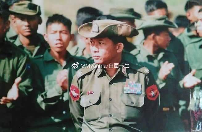 缅军总司令敏昂莱。当时可能谁都没想到