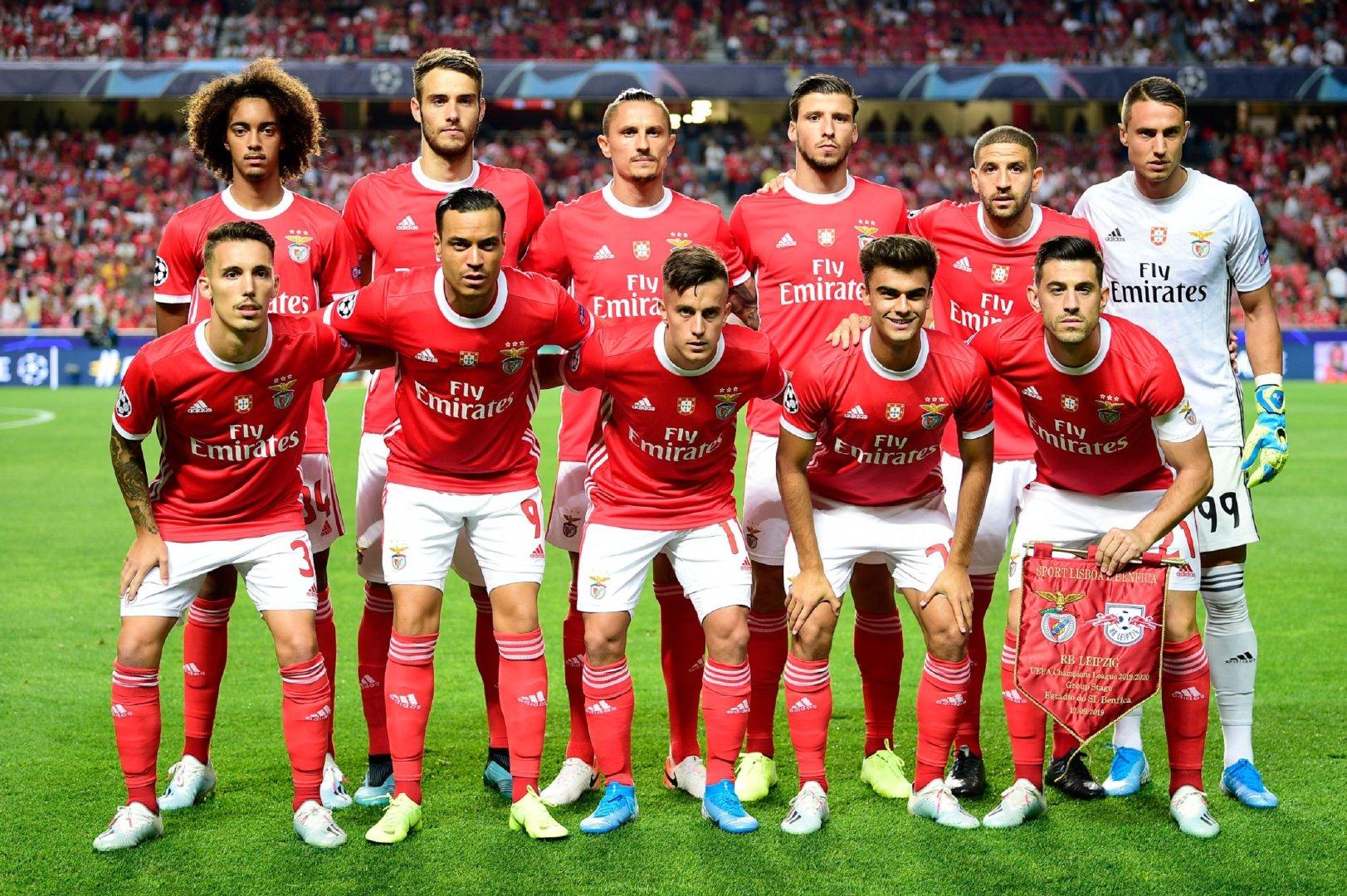 2019-2020赛季欧洲冠军联赛小组赛第1轮:本菲卡1-2RB莱比锡