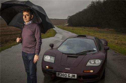 憨豆先生名下豪车无数,迈凯伦F1撞坏,竟天价卖出7547万